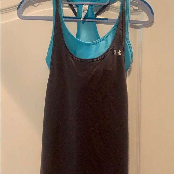 Under Armour Tops - Under Armour Sports Tank with built-in bra.
